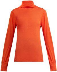 Goat - Garbo Roll Neck Sweater - Lyst