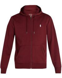 Polo Ralph Lauren - Zip Through Hooded Performance Sweatshirt - Lyst