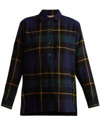 Burberry - Strenton Tartan-wool Shirt - Lyst