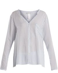 Hanro - Striped Patch-pocket Shirt - Lyst
