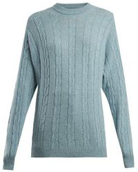 CONNOLLY - Clarke Cable-knit Cashmere Jumper - Lyst
