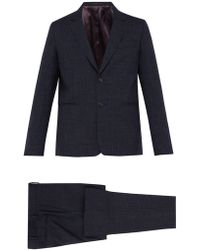 Paul Smith - Soho Tailored Fit Check Wool Blend Suit - Lyst