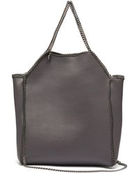 Stella McCartney - Falabella Mini Faux Leather Tote Bag - Lyst