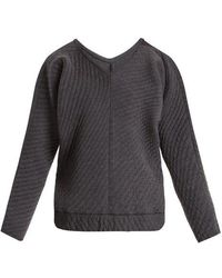 Charli Cohen - On The Qt Quilted Wool-blend Sweater - Lyst