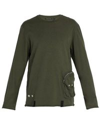 Helmut Lang - Distressed Utility Crew-neck Top - Lyst