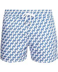Frescobol Carioca - Copacabana Print Swim Shorts - Lyst