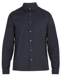 A.P.C. - Chemise 92 Cotton Shirt - Lyst