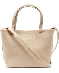 The Row - Park Small Grained Leather Bag - Lyst