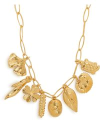 Aurelie Bidermann - Aurélie Iconic Elements Gold-plated Necklace - Lyst