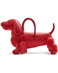 Thom Browne - Hector Grained Leather Dog Bag - Lyst