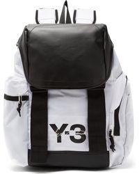 Y-3 - Logo Print Backpack - Lyst