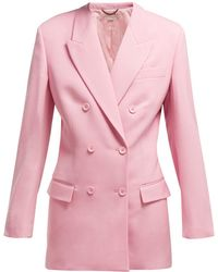f9e96910733 Stella McCartney - Tailored Wool Blazer - Lyst