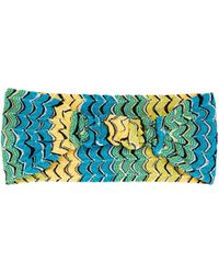 Missoni - Fish Scale Knitted Headband - Lyst
