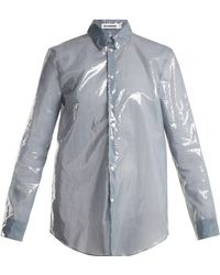 Jil Sander - Pu Long-sleeved Shirt - Lyst