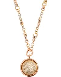 Spinelli Kilcollin - Galina 18kt Gold & Diamond Pavé Necklace - Lyst