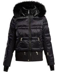 Toni Sailer - Virginie Contrast Panel Quilted Ski Jacket - Lyst 8759b708713