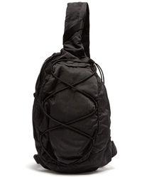 C P Company - Lens Backpack - Black - Lyst