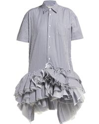 Junya Watanabe - Frilly Shirt Dress - Lyst