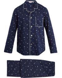 Derek Rose - Nelson Cotton-batiste Pyjama Set - Lyst