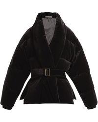 Alexandre Vauthier - Padded Velvet Cotton Jacket - Lyst