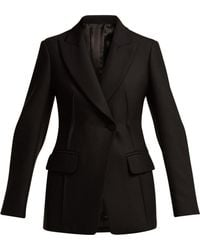 JOSEPH - Sampson Single Breasted Twill Blazer - Lyst