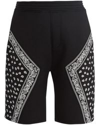 Neil Barrett - Bandana-print Neoprene Shorts - Lyst