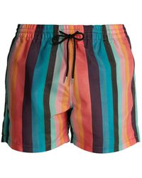 Paul Smith - Striped Swim Shorts - Lyst