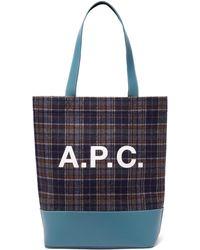 A.P.C. - Axella Tote - Lyst