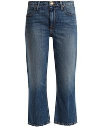 The Great | The Relaxed Nerd Mid-rise Kick-flare Jeans | Lyst