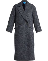 M.i.h Jeans - Stamp Double-breasted Tweed Coat - Lyst
