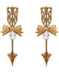Rodarte - Bow And Arrow Earrings - Lyst