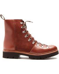 GRENSON | Brady Leather Boots | Lyst
