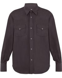 Cobra S.C. - Ranger Point Collar Cotton Shirt - Lyst