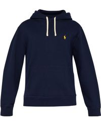 Polo Ralph Lauren - Logo Embroidered Hooded Sweatshirt - Lyst