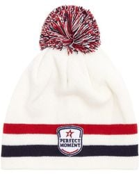 Perfect Moment - La Tour Pompom-embellished Wool-blend Beanie Hat - Lyst