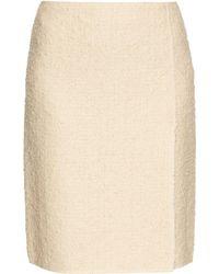 Nina Ricci | High-waisted Tweed Skirt | Lyst