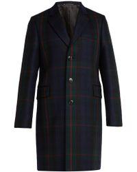 Paul Smith - Manteau en laine et cachemire à boutonnage simple - Lyst