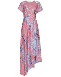 Jonathan Saunders - Polly Paisley-print Twill Dress - Lyst