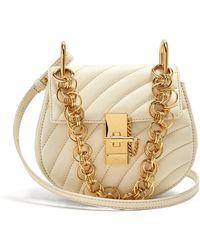 Chloé | Drew Bijou Mini Leather Cross-body Bag | Lyst