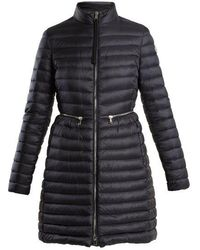 Moncler - Agatelon High-neck Quilted Down Coat - Lyst