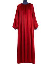ROKSANDA - Robe en soie à manches cloche Cressida - Lyst
