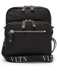 Valentino - - Vltn Cross Body Bag - Mens - Black - Lyst