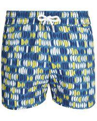 Frescobol Carioca - Sports Aquarela-print Swim Shorts - Lyst