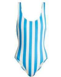 Solid & Striped - The Anne-marie Stripe-print Swimsuit - Lyst