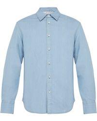 Rag & Bone - Single Cuff Denim Shirt - Lyst
