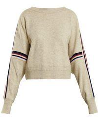 Étoile Isabel Marant - Kao Stripe-trimmed Sweater - Lyst