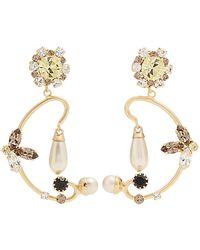 Erdem - Floral Filigree Earrings - Lyst