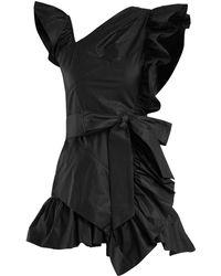Isabel Marant | Malvern Ruffle-trimmed Cotton Dress | Lyst