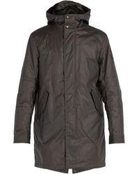 Belstaff - Chevington Waxed Cotton Hooded Parka - Lyst