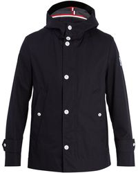 Moncler Gamme Bleu - Hooded Cotton Raincoat - Lyst